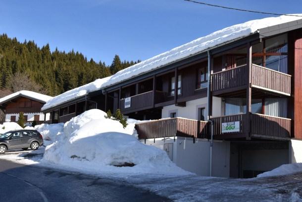 Location vacances Les Gets -  Appartement - 4 personnes - Terrasse - Photo N° 1