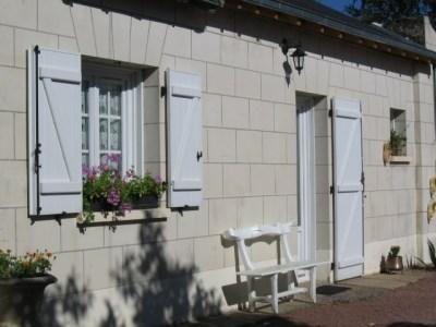 Location vacances Varennes-sur-Loire -  Gite - 2 personnes - Salon de jardin - Photo N° 1