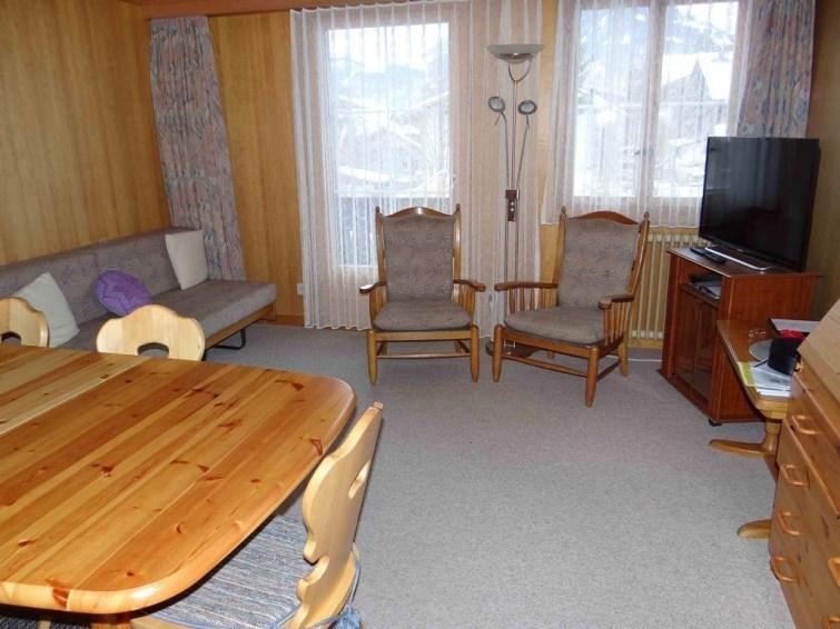 Appartement pour 3 personnes à Lenk