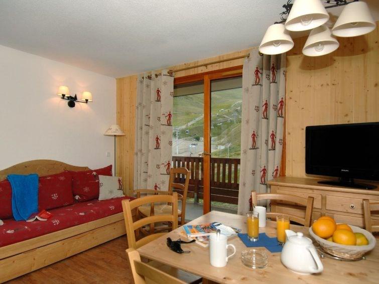 Appartement pour 2 personnes à Orcières-Merlette