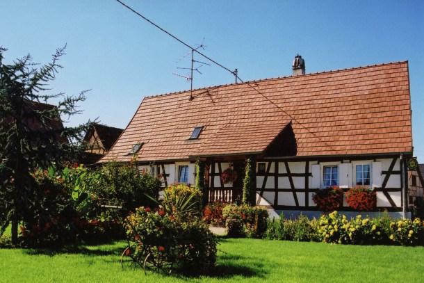 Location vacances Schleithal -  Maison - 6 personnes - Barbecue - Photo N° 1