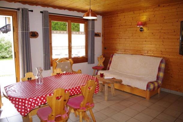 Location vacances Les Gets -  Appartement - 5 personnes - Salon de jardin - Photo N° 1