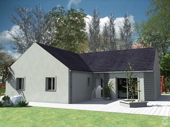 Maison  5 pièces + Terrain 611 m² Ognes par L.D.T MEAUX