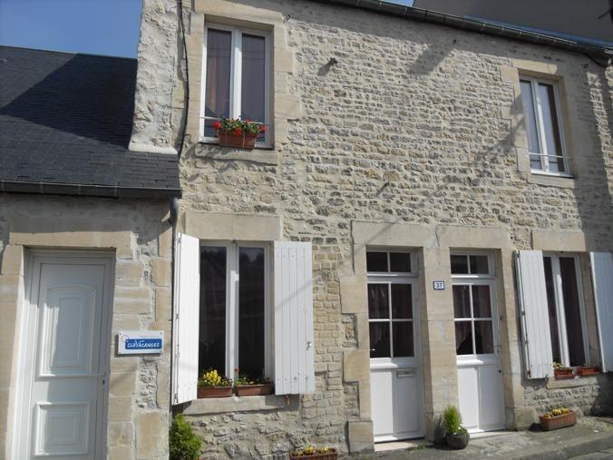 Appartement pour 4 pers. avec parking privé, Port-en-Bessin-Huppain