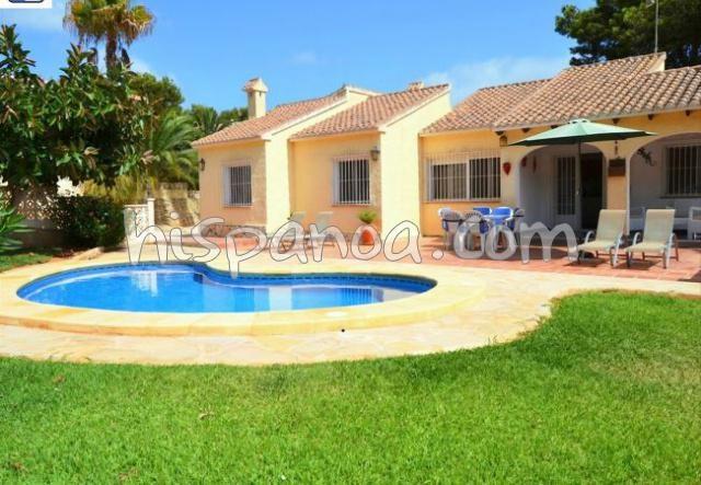Villa de vacances a louer en Espagne - Claire et spacieuse