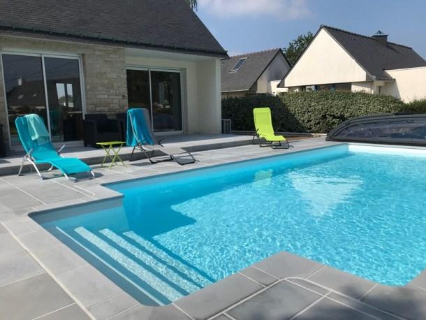 Maison 5 pièces 10/12 personnes avec piscine chauffée.
