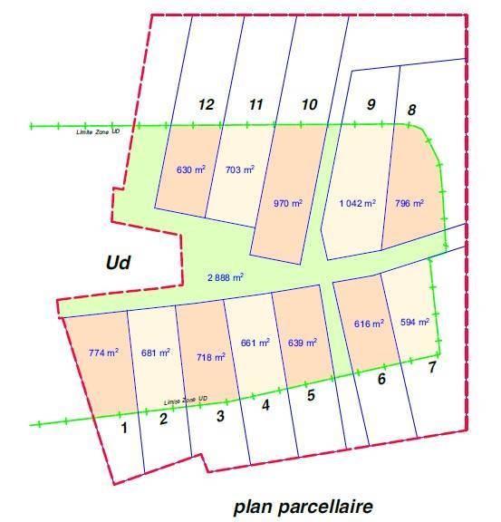 Vente terrain n ry 1116m 112000 for Combien coute un terrain constructible