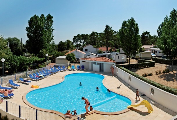 Camping le Bellevue - Chalet 3ch 6pers (-7ans) + Terrasse Couverte