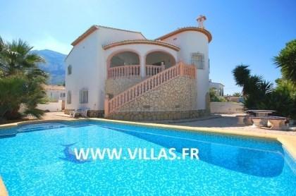 Villa AS José - Très jolie villa en position tranquille avec de belles vues sur le parc naturel du Montgo et sur la m...