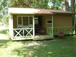 Camping La Chesnays - Chalet GRAND LARGE 'EST' - 3 chambres