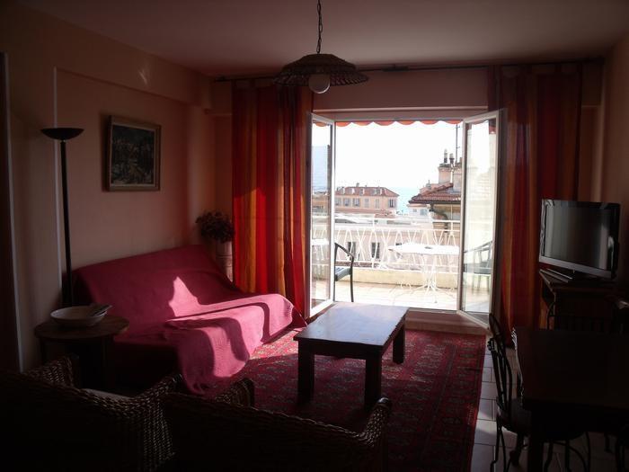 Holiday rentals Menton - Apartment - 4 persons - Television - Photo N° 1