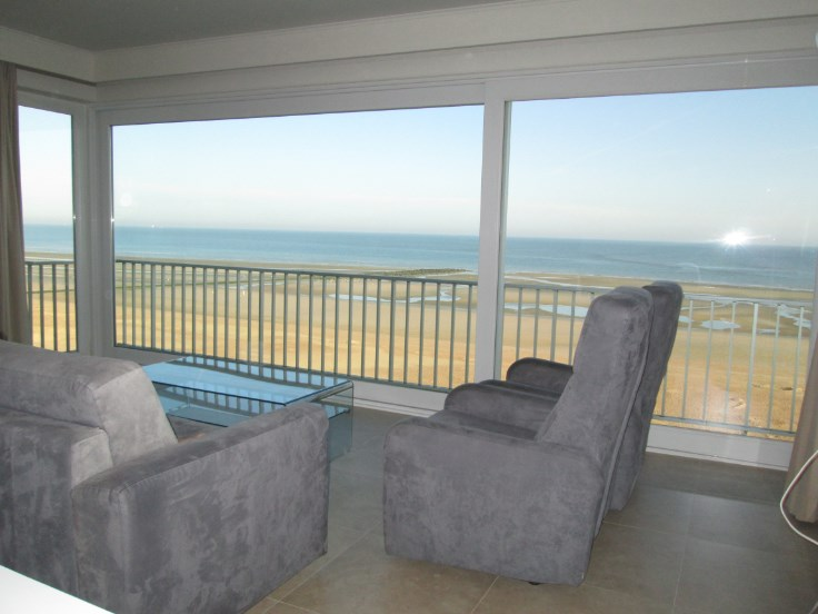 Moderne appart de vacances avec superbe vue de mer de 6m