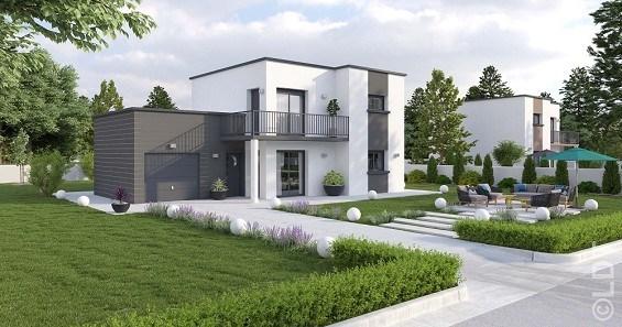 Maison  5 pièces + Terrain 900 m² Songeons par L.D.T BEAUVAIS