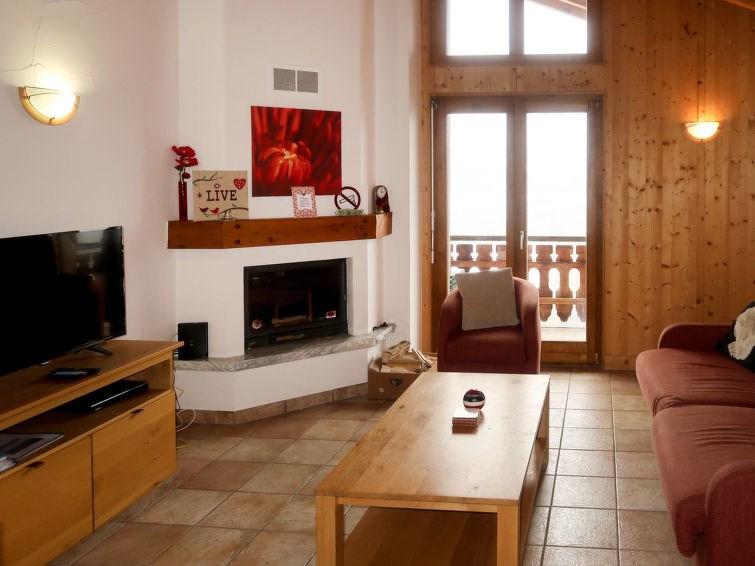 Appartement pour 8 à Veysonnaz