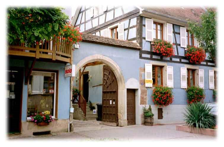 Location vacances Rosheim -  Gite - 4 personnes - Câble / satellite - Photo N° 1