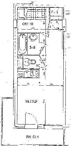 Studio cabine 4 personnes (102)