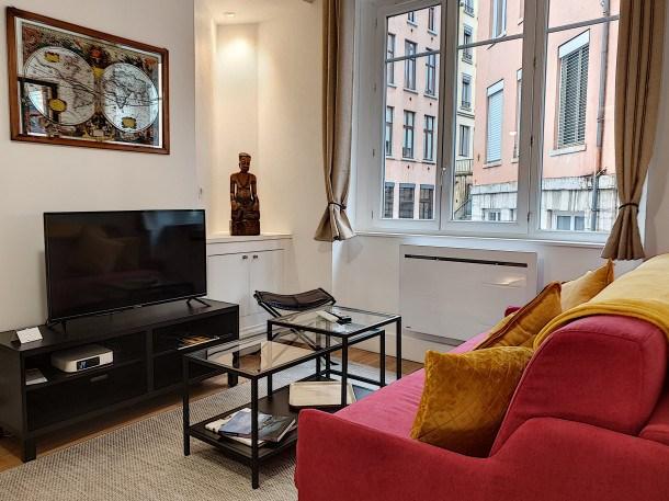 Location vacances Lyon -  Appartement - 3 personnes - Télévision - Photo N° 1