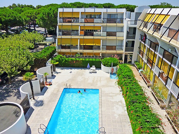 Location vacances La Grande-Motte -  Appartement - 4 personnes - Salon de jardin - Photo N° 1