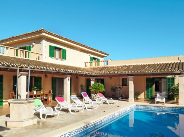 Location vacances Manacor -  Maison - 6 personnes - Barbecue - Photo N° 1