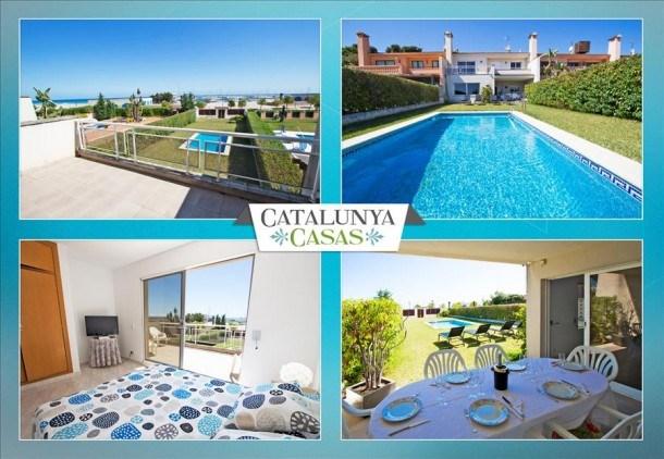 RÉMISE EXCLUSIVE AÔUT: Spacieuse villa sur la Costa Dorada pour 10, à seulement 100m de la plage!