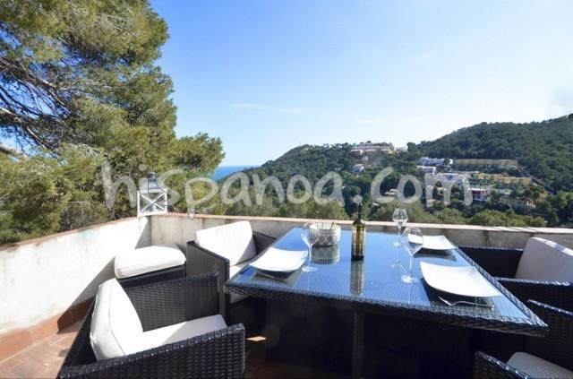 Location vacances Begur -  Appartement - 4 personnes - Salon de jardin - Photo N° 1