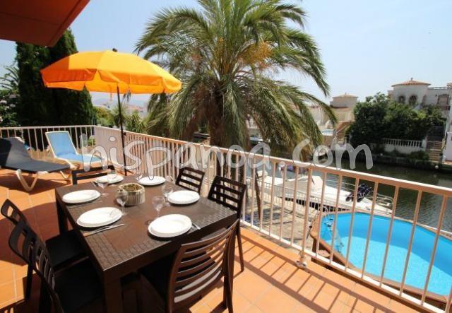 Location vacances Castelló d'Empúries -  Appartement - 8 personnes - Barbecue - Photo N° 1