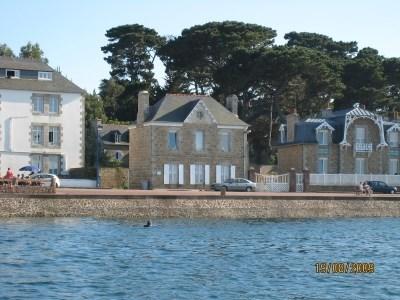 villa 10p, pieds dans l'eau, cote granit rose - Port Blanc