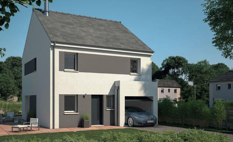Maison  5 pièces + Terrain 400 m² Montsoult par maisons evolution