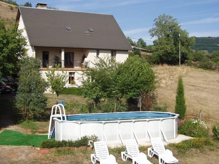 Appartement pour 4 pers. avec piscine, Castelnau-de-Mandailles