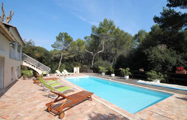 Location vacances Antibes -  Maison - 10 personnes - Barbecue - Photo N° 1