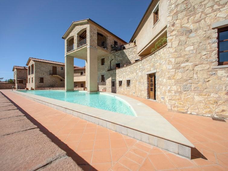 Appartement pour 4 à Gaiole in Chianti
