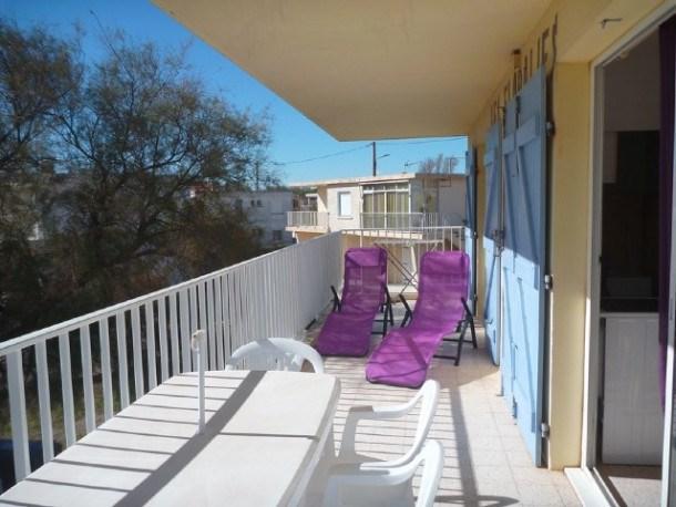 Location vacances Marseillan -  Appartement - 4 personnes - Chaise longue - Photo N° 1