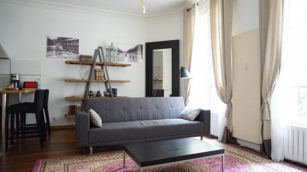 Location vacances Paris 16e Arrondissement -  Appartement - 2 personnes - Télévision - Photo N° 1