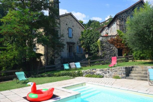 Location vacances Pont-de-Labeaume -  Maison - 6 personnes - Barbecue - Photo N° 1