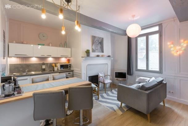 Location vacances Rennes -  Appartement - 4 personnes - Lave-linge - Photo N° 1