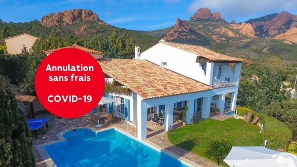 Location vacances Saint-Raphaël -  Maison - 6 personnes - Barbecue - Photo N° 1
