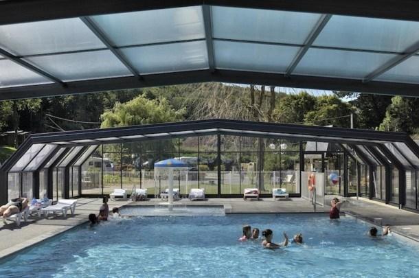 Flower Camping La Chênaie - Mobil-home Confort+ 31m² 3 chambres dont terrasse semi-couverte 11m²