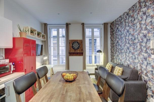 Location vacances Bordeaux -  Appartement - 3 personnes - Télévision - Photo N° 1
