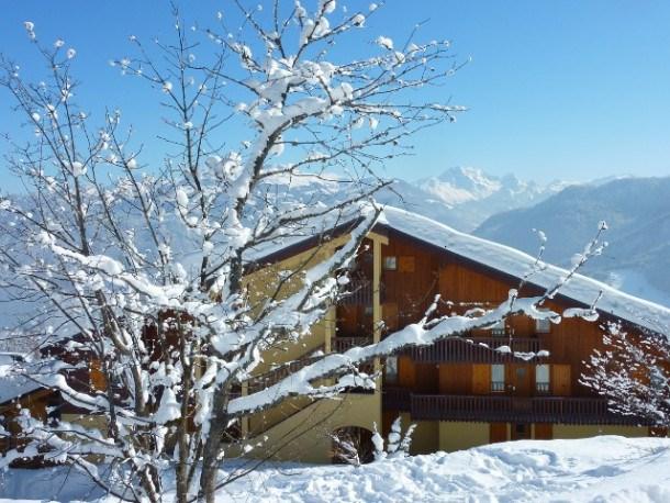 Calme & vue magnifique sur la Vanoise au pied des pistes de Valmorel St François Longchamp Celliers