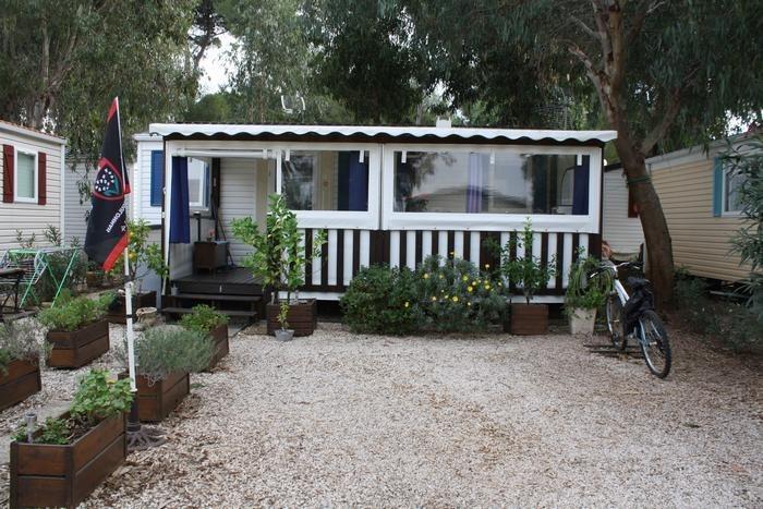Mobil Home pour 5 pers. avec parking privé, Hyères