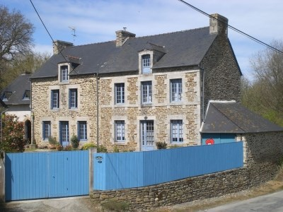 Holiday rentals Pleslin-Trigavou - Cottage - 8 persons - BBQ - Photo N° 1
