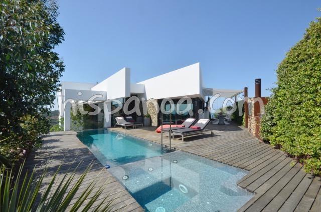 Magnifique villa moderne pour 8 personnes avec belle vue mer à Sa tuna |294