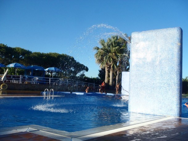 Camping El Pla De Mar Malgrat De Mar - Palmier Océan - Mh 3ch 6pers 30m² + terrasse couverte