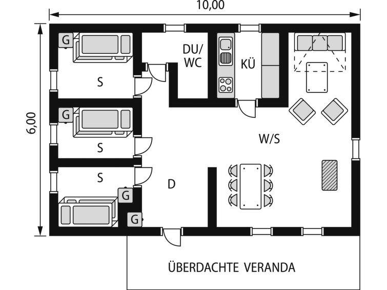 Maison pour 6 à Lofsdalen
