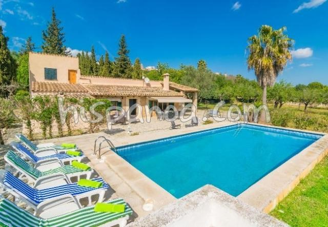 Holiday rentals Búger - House - 8 persons - BBQ - Photo N° 1