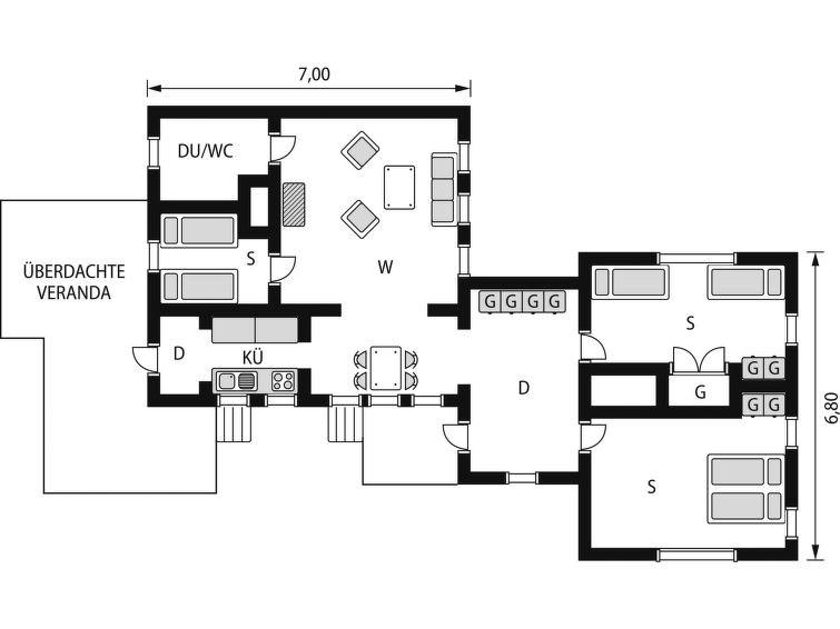 Maison pour 6 à Adelsö