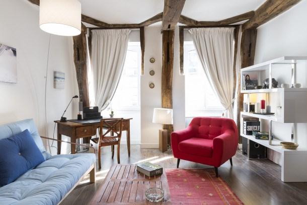 Location vacances Rennes -  Appartement - 3 personnes - Lave-linge - Photo N° 1