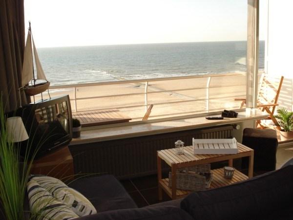 Appartement sur la digue d'Ostende, 4 à 5 pers.