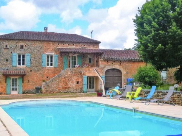 Location vacances Montcabrier -  Maison - 6 personnes - Barbecue - Photo N° 1