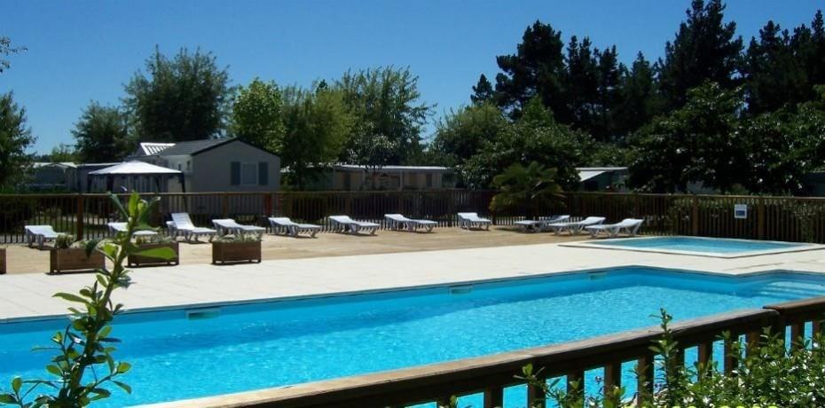 Camping Landes Azur, 35 emplacements, 22 locatifs